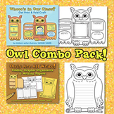 Owl Craft and Graphic Organizers Bundle