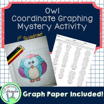 Owl Coordinate Graphing Mystery Activity