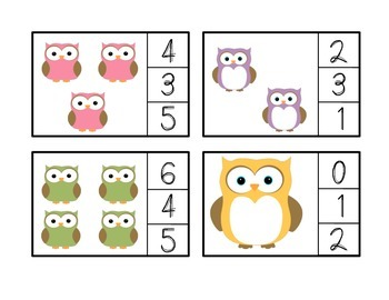 Owl Count and Clip