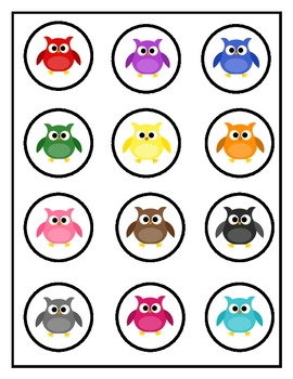 Owl Counting Mats