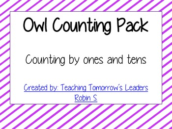 Owl Counting Pack
