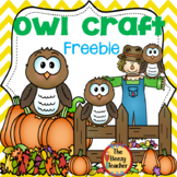 Owl Craft Freebie