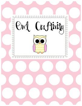 Owl Craftivity