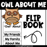 Back to School Craft Activity (Owl Craftivity Flip Book)