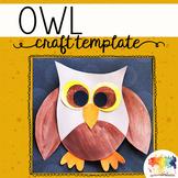 Owl Craft Template