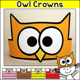 Owl Crowns for the First Week of School