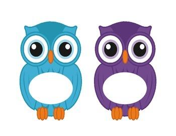 Owl Cut Outs Classroom Decor