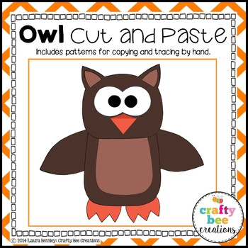 Owl Cut and Paste