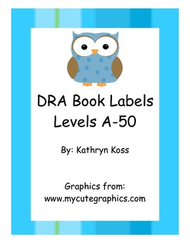 Owl DRA Leveled Book Labels