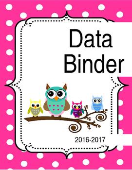 Owl Data Binder Cover