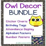 Owl Decor Bundle