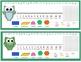 Owl Desk Nameplates - Cursive