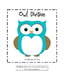 Owl Division File Folder Game (5's)