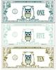 Owl Dollars - Classroom money, reward or economy {ZisforZebra}