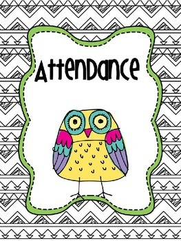 Owl Doodle All Day Teacher Totebook Binder