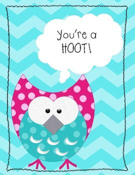 Owl Encouragement Notes