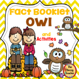 Fact Booklet - Owl and Activities