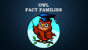 Owl Fact Family