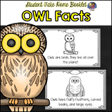 Owl Facts-Student Booklet