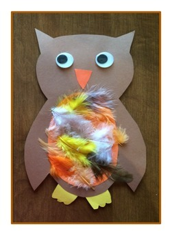 Owl Fall Art Activity