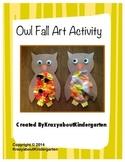 Owl Fall Art Activity