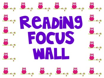Owl Focus Wall Signs