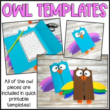 End of the Year Writing - Owl Craftivity