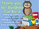 """Owl  """"Giving Tree"""" Donations"""