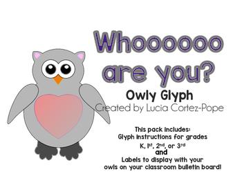 "Owl Glyph ""Whooooo are you?"""