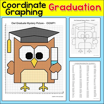 End of the Year Coordinate Graphing Ordered Pairs Mystery