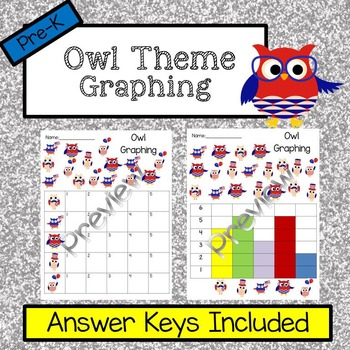Owl Graphing No Prep