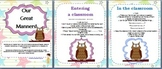 Character Education - 'Owl Great Manners' Program