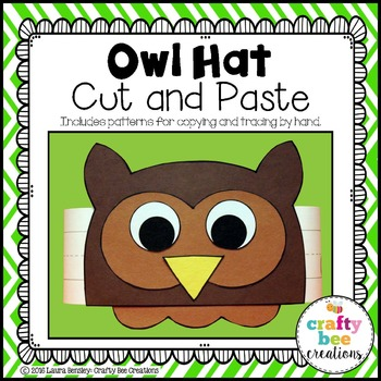 Owl Hat Cut and Paste
