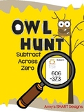 Owl Hunt: Subtracting Across Zero Game