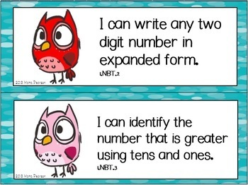"""Owl """"I Can"""" Statements"""