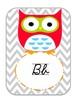 Owl I need Cursive edition- classroom decor pack