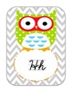 Owl I need Cursive edition- classroom decor pack