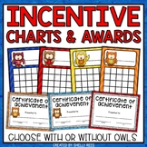 Incentive Reward Charts and Sticker Charts