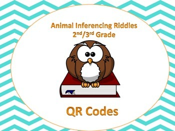 Owl Inferencing (animals) QR code activity (Common Core aligned) 2-4