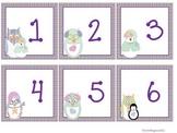 Owl January Calendar Cards