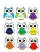 Owl Job Assignment Bulletin Board (Rainbow)