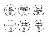 Classroom Job Board - Owl Themed Labels