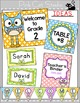 Owl Theme Labels & Templates: make supply labels, signs, n