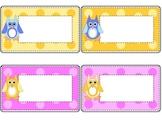 Owl Labels (rectangular)