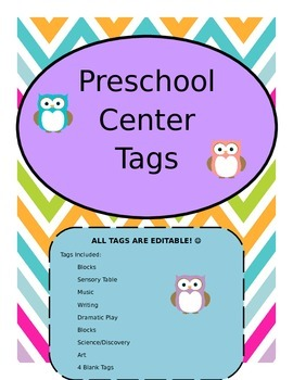 Owl Learning Center Signs