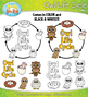 Owl Life Cycle Clip Art Set — Comes In Color and Black & White!