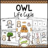 Owl Life Cycle | Fall Science | Preschool Pre-K