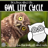 Owl Life Cycle Foldables and Flip Books