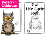 Owl Life Cycle Research Book