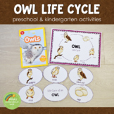 Owl Life Cycle Set - Preschool & Kindergarten